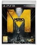 PS3 GAMES - METRO : LAST LIGHT - PS3