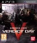 PS3 GAMES - ARMORED CORE : VERDICT DAY - PS3