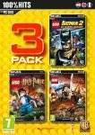 PC GAMES - LEGO TRIPLE PACK - PC