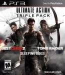 PS3 GAMES - ULTIMATE ACTION TRIPLE PACK (INC. JUST CAUSE 2 + SLEEPING DOGS + TOMB RAIDER)  - PS3