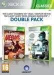 XBOX360 GAMES - RAINBOW SIX: VEGAS 2 + GHOST RECON: ADVANCED WARFIGHTER 2 - DOUBLE PACK CLASSICS - XBOX 360