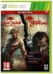 XBOX360 GAMES - DEAD ISLAND DOUBLE PACK (INC.GOTY EDITION+RIPTIDE COMPLETE ED.+FULL DLC PACKAGE) - XBOX 360