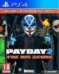 PS4 GAMES - PAYDAY 2: THE BIG SCORE - PS4