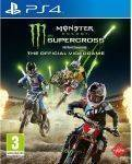PS4 GAMES - MONSTER ENERGY SUPERCROSS - PS4