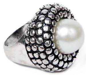ΔΑΧΤΥΛΙΔΙ ACHILLEAS ACCESSORIES ΜΕ ΠΕΡΛΑ (ONE SIZE) κοσμήματα δαχτυλιδια fashion romantic