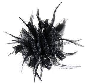 ΜΠΟΥΤΟΝΙΕΡΑ ΜΑΥΡΗ ΤΟΥΛΙΠΑ BEVERLY accessories αξεσουαρ μαλλιων μπουτονιερεσ