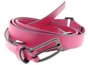 ΖΩΝΗ ΔΙΠΛΗ DOUBLE WRAP ΦΟΥΞΙΑ (L) accessories γυναικα ζωνεσ δερματινεσ