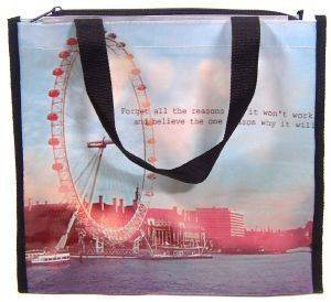 SHOPPING BAG LONDON EYE ACHILLEAS