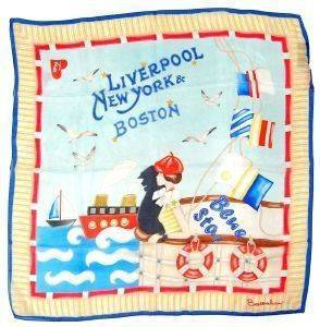 ΜΑΝΤΗΛΙ BRACCIALINI BLUE STAR LIVERPOOL/NEW YORK/BOSTON ΜΠΛΕ
