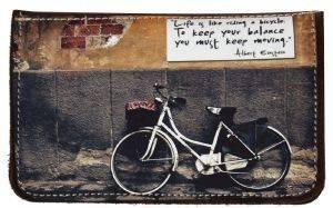 ΔΕΡΜΑΤΙΝΗ ΚΑΣΤΟΡΙΝΗ ΘΗΚΗ ΚΑΠΝΟΥ ON AND OFF BICYCLE MESSAGE accessories ειδη καπνιστου αξεσουαρ καπνοσακουλεσ
