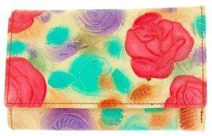 ΔΕΡΜΑΤΙΝΟ ΓΥΝΑΙΚΕΙΟ ΠΟΡΤΟΦΟΛΙ COZY ROSE ΜΠΕΖ accessories γυναικα πορτοφολια δερματινα
