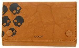 ΔΕΡΜΑΤΙΝΟ ΤΣΑΝΤΑΚΙ ΚΑΠΝΟΥ COZY 2252A SKULL ΚΑΜΕΛ accessories ειδη καπνιστου αξεσουαρ καπνοσακουλεσ