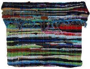 ΧΕΙΡΟΠΟΙΗΤΗ ΤΣΑΝΤΑ ΠΛΑΤΗΣ PENNY CHRISTIDI ΒΑΜΒΑΚΕΡΗ ΠΟΛΥΧΡΩΜΗ accessories γυναικα τσαντεσ πλατησ