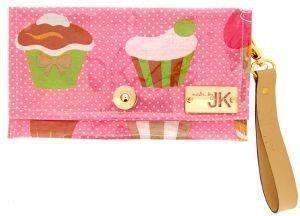 ΧΕΙΡΟΠΟΙΗΤΗ ΤΣΑΝΤΑ ΦΑΚΕΛΟΣ MADE BY JK CUPCAKES PINK accessories γυναικα τσαντεσ φακελοι
