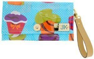 ΧΕΙΡΟΠΟΙΗΤΗ ΤΣΑΝΤΑ ΦΑΚΕΛΟΣ MADE BY JK CUPCAKES BLUE accessories γυναικα τσαντεσ φακελοι