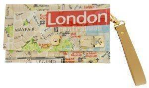 ΧΕΙΡΟΠΟΙΗΤΗ ΤΣΑΝΤΑ ΦΑΚΕΛΟΣ MADE BY JK LONDON MAP accessories γυναικα τσαντεσ φακελοι