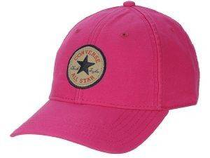 ΚΑΠΕΛΟ CONVERSE CORE CLASSIC TWILL ΡΟΖ (ONE SIZE) accessories γυναικα καπελα σκουφοι καπελα