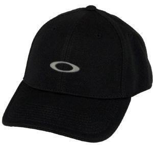 ΚΑΠΕΛΟ OAKLEY SILICON ΜΑΥΡΟ (S/M) accessories ανδρασ καπελα σκουφοι καπελα