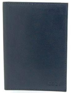 ΔΕΡΜΑΤΙΝΗ ΚΑΡΤΟΘΗΚΗ COZY 403A ΣΚΟΥΡΟ ΜΠΛΕ accessories καρτοθηκεσ καρτοθηκεσ