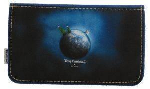 ΔΕΡΜΑΤΙΝΗ ΚΑΣΤΟΡΙΝΗ ΘΗΚΗ ΚΑΠΝΟΥ ON AND OFF CHRISTMAS NIGHT accessories ειδη καπνιστου αξεσουαρ καπνοσακουλεσ
