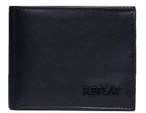 ΠΟΡΤΟΦΟΛΙ REPLAY FM5111.000.A3071 ΜΑΥΡΟ accessories ανδρασ πορτοφολια πορτοφολια