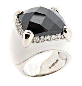 ΔΑΧΤΥΛΙΔΙ BEVERLY ΑΣΗΜΕΝΙΟ ΜΕ ΠΕΤΡΑ (NΟ 54) accessories κοσμηματα δαχτυλιδια επιπλατινωμενα