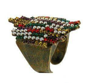 ΔΑΧΤΥΛΙΔΙ FRANGOS ΜΕΤΑΛΛΙΚΟ ΜΕ ΠΟΛΥΧΡΩΜΑ SWAROVSKI (ONE SIZE) accessories κοσμηματα δαχτυλιδια fashion
