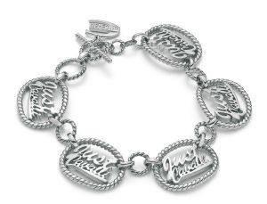 ΒΡΑΧΙΟΛΙ JUST CAVALLI JUST LOGO (ΑΤΣΑΛΙ) accessories κοσμηματα βραχιολια fashion