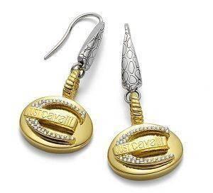 ΣΚΟΥΛΑΡΙΚΙΑ JUST CAVALLI JUST JOY accessories κοσμηματα σκουλαρικια κρεμαστα