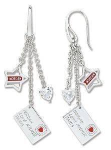 ΣΚΟΥΛΑΡΙΚΙΑ MORGAN LOVE AVENUE PARIS accessories κοσμηματα σκουλαρικια κρεμαστα