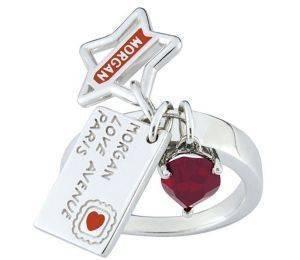 ΑΣΗΜΕΝΙΟ ΔΑΧΤΥΛΙΔΙ MORGAN LOVE AVENUE PARIS (NO 54) accessories κοσμηματα δαχτυλιδια fashion