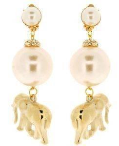 ΣΚΟΥΛΑΡΙΚΙΑ MILIONI GLAM ELEPHANT accessories κοσμηματα σκουλαρικια κρεμαστα