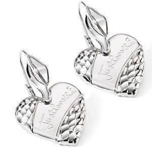ΣΚΟΥΛΑΡΙΚΙΑ JUST CAVALLI HEART accessories κοσμηματα σκουλαρικια κρεμαστα