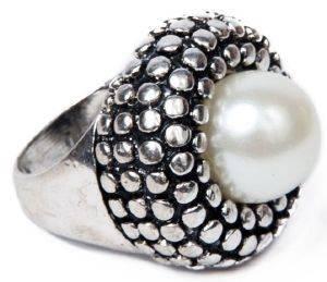 ΔΑΧΤΥΛΙΔΙ ACHILLEAS ACCESSORIES ΜΕ ΠΕΡΛΑ (ONE SIZE) accessories κοσμηματα δαχτυλιδια fashion