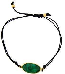 ΒΡΑΧΙΟΛΙ COUNTESS WILHELMINA EMERALD ΜΑΥΡΟ accessories κοσμηματα βραχιολια fashion