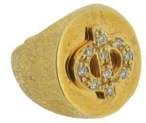 """ΔΑΧΤΥΛΙΔΙ CHEVALIER ΜΕ ΜΟΝΟΓΡΑΜΜΑ """"Φ"""" ΧΡΥΣΟ (ONE SIZE) accessories κοσμηματα δαχτυλιδια ασημι 925"""
