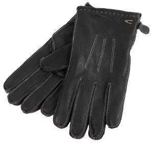 ΓΑΝΤΙΑ CAMEL ACTIVE CB-83-408340-8G34-09 ΔΕΡΜΑ ΜΑΥΡΟ (XL) accessories ανδρασ κασκολ γαντια γαντια