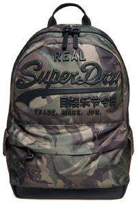 ΤΣΑΝΤΑ ΠΛΑΤΗΣ SUPERDRY PREMIUM GOODS M91020MT OUTLINE ARMY CAMO ΧΑΚΙ