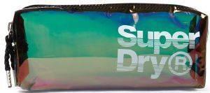 ΝΕΣΕΣΕΡ ΤΣΑΝΤΑΚΙ SUPERDRY SUPER JELLY PENCIL CASE G98003GR ΙΡΙΔΙΖΟΝ ΜΑΥΡΟ accessories γυναικα τσαντεσ τσαντακια