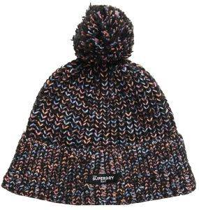 ΣΚΟΥΦΟΣ SUPERDRY ELIZA TWISTED BEANIE W9000002A MULTI COLOUR