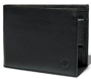 ΠΟΡΤΟΦΟΛΙ TIMBERLAND BIFOLD WITH POCKET COIN TB0A23UP ΜΑΥΡΟ