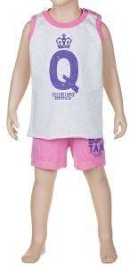ΣΕΤ BODYTALK ΦΑΝΕΛΑ + ΒΕΡΜΟΥΔΑ ΡΟΖ (4 ΕΤΩΝ) βρεφικά   παιδικά κοριτσι φορμεσ αμανικεσ