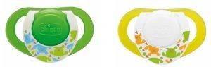ΠΙΠΙΛΑ ΜΕ ΚΡΙΚΟ CHICCO ΣΙΛΙΚΟΝΗ PHYSIO ΓΙΑ ΤΗ ΝΥΧΤΑ 4M+ (2ΤΜΧ) (8058664014064) βρεφικά   παιδικά πιπιλεσ και αξεσουαρ πιπιλεσ σιλικονησ silic