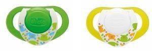 ΠΙΠΙΛΑ ΜΕ ΘΗΚΗ CHICCO PHYSIO ΣΙΛΙΚΟΝΗ LUMI 4Μ+(2ΤΕΜ) βρεφικά   παιδικά πιπιλεσ και αξεσουαρ πιπιλεσ σιλικονησ silic
