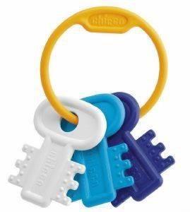 ΧΡΩΜΑΤΙΣΤΑ ΚΛΕΙΔΙΑ ΣΙΕΛ CHICCO Χρωματιστά κλειδιά σιέλ  από την εταιρία CHICCO Κουδουνίστρα με ζωηρά χρώματα εύκολη στο κράτημα και ειδικά σχεδιασμένη για περίοδο της οδοντοφυίας Co
