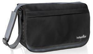 ΤΣΑΝΤΑ ΑΛΛΑΞΙΕΡΑ BABYMOOV MESSENGER BAG BLACK (A043546) βρεφικά   παιδικά βολτα και μεταφορα τσαντεσ μεταφορασ