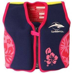 ΣΩΣΙΒΙΟ FLOAT JACKET KONFIDENCE PINK HIBI (98ΕΚ.)-(2-3 ΕΤΩΝ)
