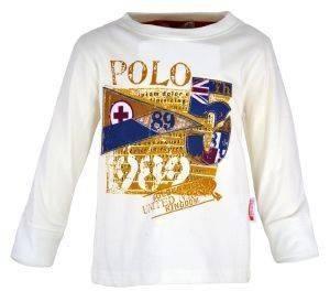 """ΜΠΛΟΥΖΑ ENERGIERS """"POLO"""" ΕΚΡΟΥ (116ΕΚ.)-(4-5 ΕΤΩΝ) βρεφικά   παιδικά αγορι μπλουζεσ μακρυμανικεσ"""