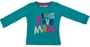 ΜΠΛΟΥΖΑ ENERGIERS ΣΜΑΡΑΓΔΙ (80ΕΚ.)-(6-12 ΜΗΝΩΝ) βρεφικά   παιδικά κοριτσι μπλουζεσ μακρυμανικεσ