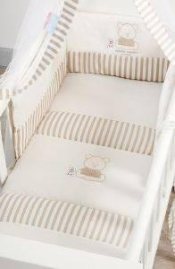 ΣΕΤ ΛΙΚΝΟΥ OMEGA HOME BEST FRIENDS (ΠΑΝΤΑ-ΚΟΥΝΟΥΠΙΕΡΑ-ΚΟΥΒΕΡΛΙ) βρεφικά   παιδικά λευκα ειδη δωματιο προικα μωρου